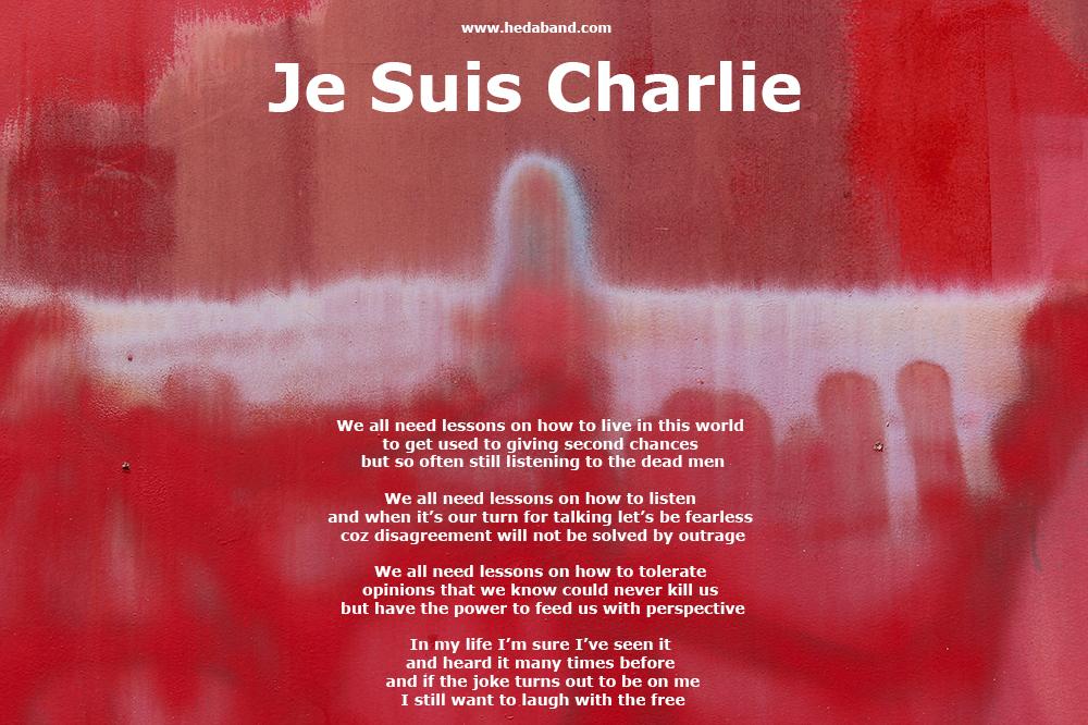 Lyrics Je Suis Charlie